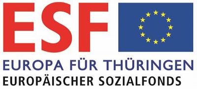 Bild Europa für Thüringen, Logo Europäischer Sozialfonds