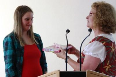 Beste Fachpraktikerin Hauswirtschaft: Miriam Clauswitz (copyright Astrid Grupe)