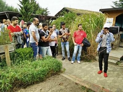 Ehemaliger Teilnehmer einer BvB begleitet das Sommerfest musikalisch