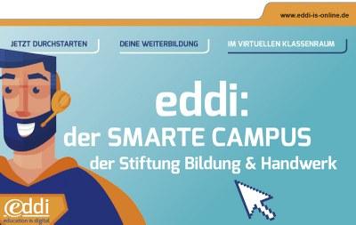 eddi: der SMARTE CAMPUS der Stiftung Bildung & Handwerk