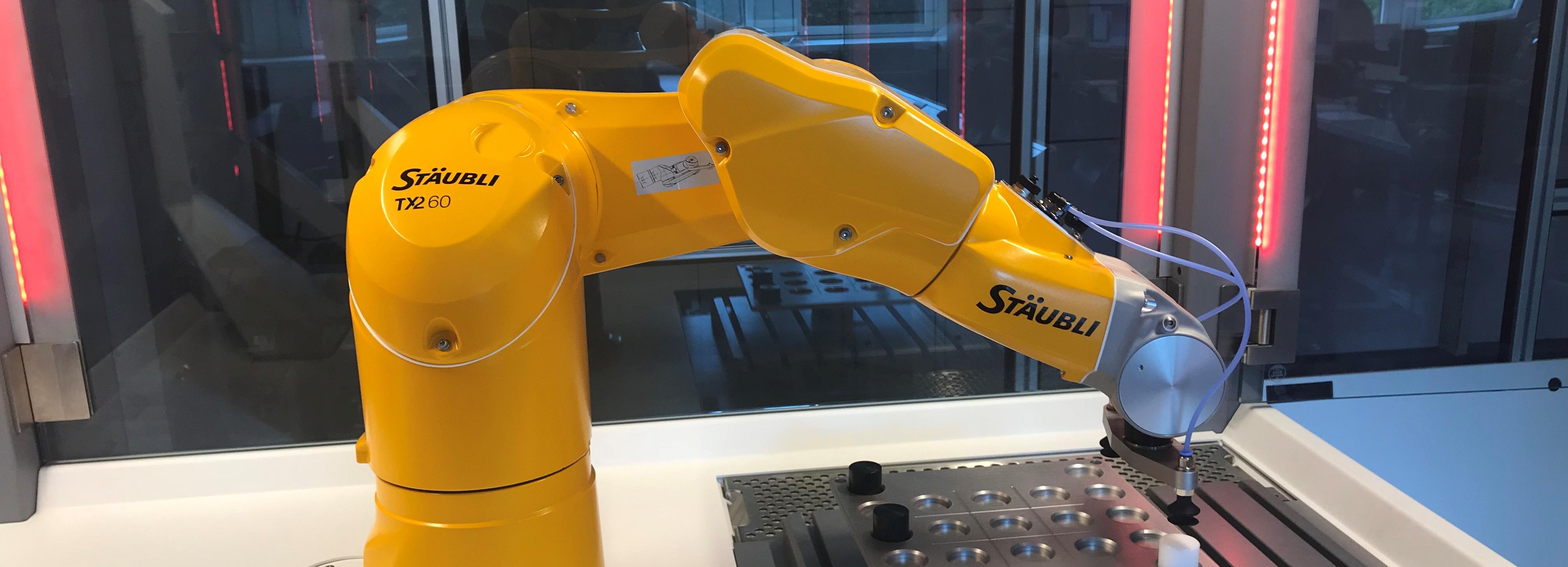 Geprüfter Industrieexperte Robotik