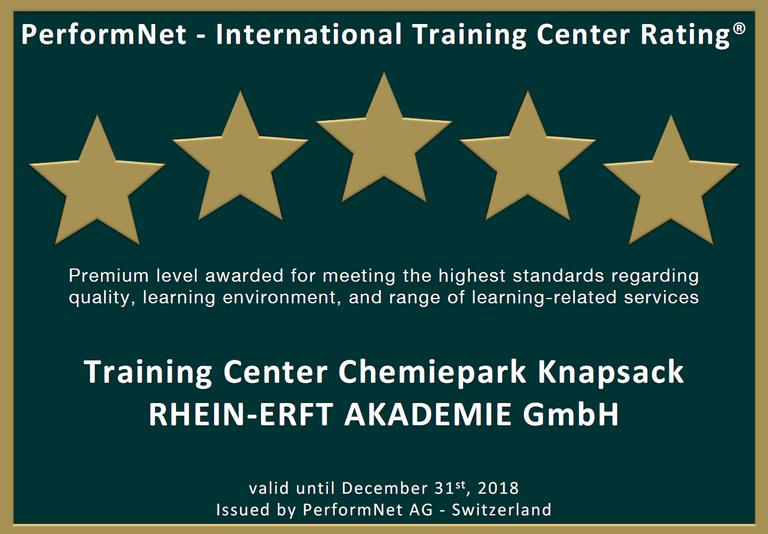 Auszeichnung für Rhein-Erft-Akademie