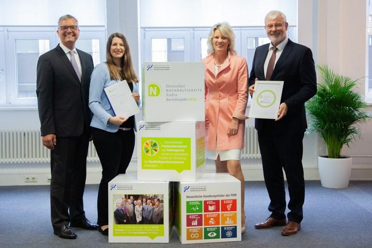 DNK-Nachhaltigkeitssignet für die Fachhochschule des Mittelstands (FHM)