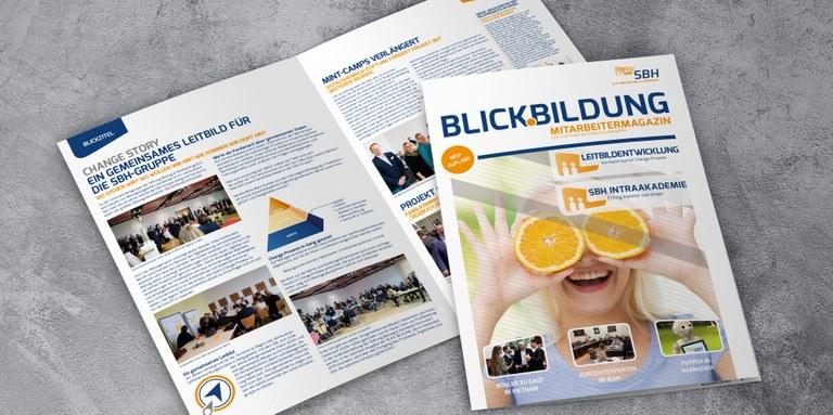 Neuauflage Blick.Bildung - Das Mitarbeitermagazin der Stiftung Bildung & Handwerk