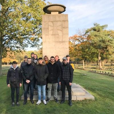 Denkmal Gruppenfoto