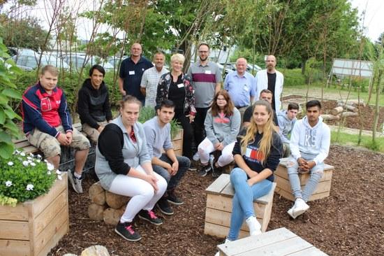 Grünes Klassenzimmer: Projekt zur Berufsfindung