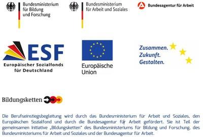 Logoleiste BerEb ESF-Bund+Text