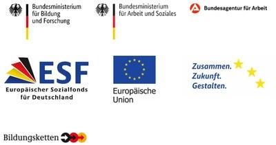 Logoleiste BerEb ESF-Bund